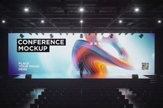 Conference Hall Screen Mockup от on Envato Elements Envato Elements, Right To Privacy, Targeted Advertising, Glow Effect, Mockup Templates, Design Templates, Screen Size, Scene Creator, Conference