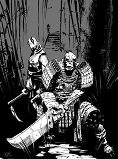 Hellboy and Abe Sapien by Stephen Green