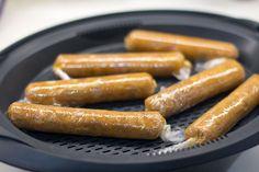 Cómo preparar salchichas caseras de pollo con Thermomix «  Trucos de cocina Thermomix Carne En Trocitos, Canapes, Barbecue, Sausage, Picnic, Sandwiches, Keto, Homemade, Recipes