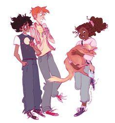 When Hermione first got crookshanks! XD