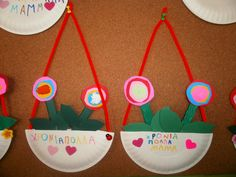Sofia's Kindergarten: Κάρτες κι άλλες κατασκευές για τη ΓΙΟΡΤΗ ΤΗΣ ΜΗΤΕΡΑΣ