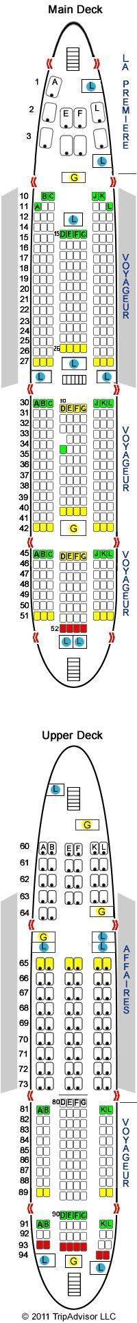 Air France A380 by Seat Guru