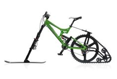 Snow Bike Conversion Kit Mtb - Snow Images and Description Tricycle, Bicycle Pictures, Bike Kit, Bicycle Parts, Bicycle Design, Bike Accessories, Winter Accessories, Cool Bikes, Mountain Biking