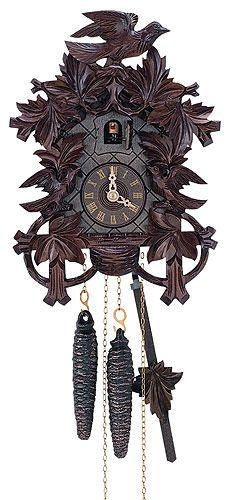120f8411068 Cuckoo Clock 1-day-movement Carved-Style 27cm by Anton Schneider Anton