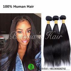 human straight hair brazilian hair weave bundles brazilian virgin straight hair 1 bundle 6a unprocessed virgin straight hair //Price: $US $13.60 & FREE Shipping //   http://humanhairemporium.com/products/human-straight-hair-brazilian-hair-weave-bundles-brazilian-virgin-straight-hair-1-bundle-6a-unprocessed-virgin-straight-hair/  #hair_weaves