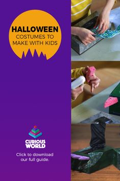 Are you looking for ideas for Halloween activities, decorations and costumes for kids? Take a look at our step by step guide packed full of crafts and activities to make this Halloween like no other. Halloween Costumes To Make, Halloween Activities, Halloween Kids, Toilet Tube, Shapes For Kids, Cute Bat, Free Activities, Educational Games