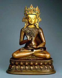 century, Tibet, Amoghasiddhi, copper with cold gold and turquoise, at the Patan Museum (Nepal). Statues, Nepal Art, Green Tara, Tibetan Art, Buddhist Art, Himalayan, Buddhism, 18th Century, Museum