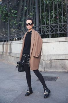 College Vintage shows us all her fall must-haves in one outfit. by Sara Escudero on Fashion Indie