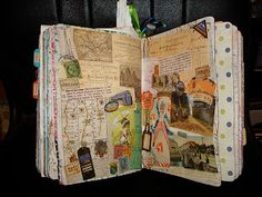 Junk Journals are so great.  Look here to see some terrific ones:A Creative Operation