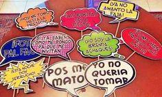 Photo Props,foto Prop,habladores, Fiestas,carteles Bs.F.2300 TIdIc - Precio D Venezuela