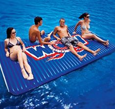 WOW World of Watersports, Inflatable Floating Water Walkway Floating Mat, Floating In Water, Water Pad, Small Showers, Lake Life, Diving, Water Time, Beach Mat, Walkway