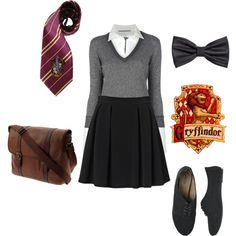 Gryffindor School Outfit
