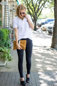 The Polo Shirt Is Back! 13 Ways to Style the Classic This Fall
