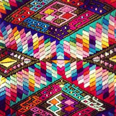 Mayan fabrics and colours