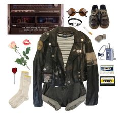 """here babe, take my jacket"" by fairlyizzy ❤ liked on Polyvore featuring мода, Topshop, Prada, INC International Concepts, Dr. Martens и Toast"