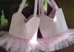 DIY Ballerina Bags in pink. 070213