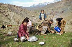 Kurdish Smugglers by Aram Karim