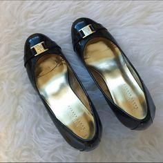 Ralph Lauren black heels Authentic Ralph Lauren black heels! The heels are not to high, great for work, gently worn. I wore it a few times, but it's too small for me. Ralph Lauren Shoes Heels