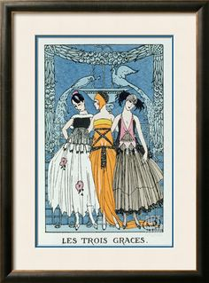 Art.com - Find the Perfect Frame  Georges Barbier, The Three Graces