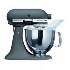 A Kitchenaid mixer would make life so great. It's almost worth it to get married *just* to get this as a gift. The matte finish is to die for.