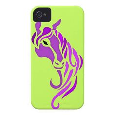 SOLD Purple #Horse iPhone 4 Cases $48