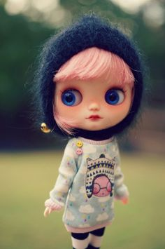 Image of Custom Middie Blythe doll by Mariuka