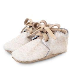 *NEW* Dutch Baby Booties - Cream Cow | ella+elliot | Toronto | Vancouver | Canada | ellaandelliot.com