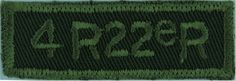 4 R R Bn Royal (Canadien Francais) Reg Green On Olive Non-British Army shoulder title for sale British Army, Commonwealth, Armed Forces, Empire, Military, Shoulder, Special Forces, Federal, Military Man