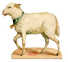 vintage lamb from The Graphics Fairy