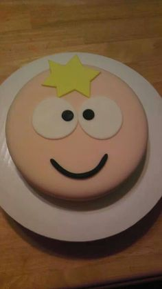 Butters from South Park cake. If someone could just make me this please and thank you.