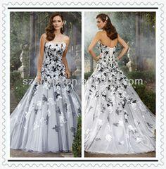 black wedding dresses for sale