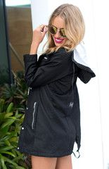 http://beginningboutique.com.au/collections/outerwear/products/rhythm-alpine-parka-black  Throw this parka over any outfit for a cute, cozy look!
