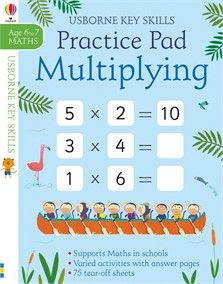 Multiplying practice pad 6-7 - NEW FOR APRIL 2018