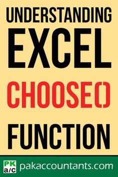Learn how to use CHOOSE function in your formulas in this free tutorial. Free Excel tutorial, tips, and tricks, dashboard templates, cheat sheets and formula core book. Computer Help, Computer Programming, Computer Tips, Microsoft Excel Formulas, Excel Hacks, Dashboard Template, Software, Data Analytics, Data Science