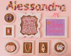 Pink Vintage Baby Shower Decor - Project Nursery