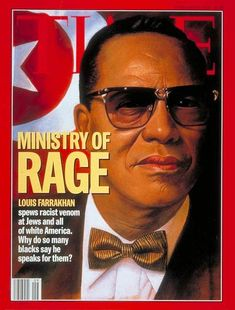 TIME Magazine Cover: Louis Farrakhan -- Feb. 28, 1994