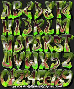 Image of Graffiti Font - Aeon