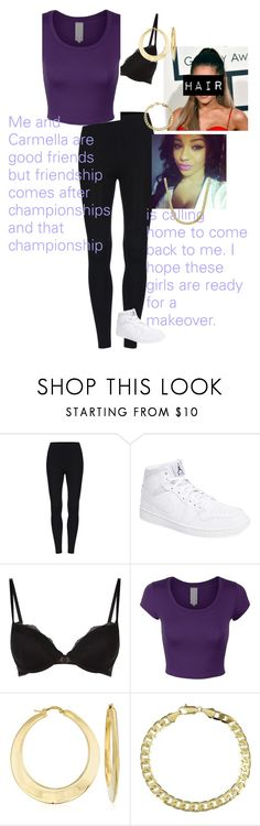 """""""💵Marissa Dorado💵 #1 Contendership Match"""" by lsd-and-halloweencandy ❤ liked on Polyvore featuring NIKE, Elle Macpherson Intimates, Ross-Simons and Simon Frank"""