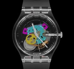 Swatch Random Ghost SUOK111 Watch Has 15,120 Possible Dials