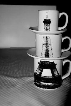 Canecas Torre Eiffel <3