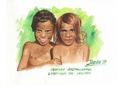 Gazte aborigenak.