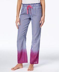 Tommy Hilfiger Dip-Dye Pajama Pants