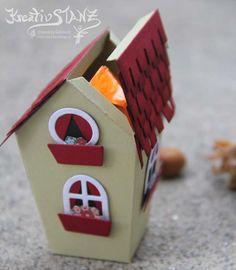 Wohnhaus Haus Stampin' Up! KreativStanz Ein Haus für alle Fälle Thinlits Zu Hause