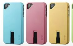 The Hybrid Series for the iPhone lets users slide thumb drives to the back of their iPhone 4 or 4S.