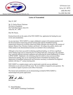 Pin By Proposal Letter Samples USA On Letter Of Transmittal Proposal