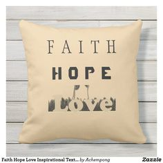 Inspirational Text, Faith Hope Love, Text Design, Proverbs, Idioms