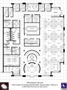 Models musicals and photos on pinterest for Typical office floor plan