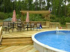 Pools | Bossier City, Shreveport, LA: Sunset Decks and Pergolas