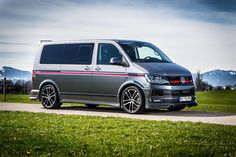 ABT Sportsline has dropped new images and details on the upgraded Volkswagen Vw Transporter Van, Vw T5, Volkswagen Bus, Vw Camper, Caravelle T5, Nissan Elgrand, Vw Group, Day Van, Audi Q3