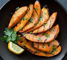 Grilled Sweet Potatoes.....i've seen so many grilled recipes...I don't know why I haven't gotten a grill pan for my stove yet!